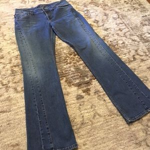 Vintage DKNY Jeans Flare Legged 90's Style